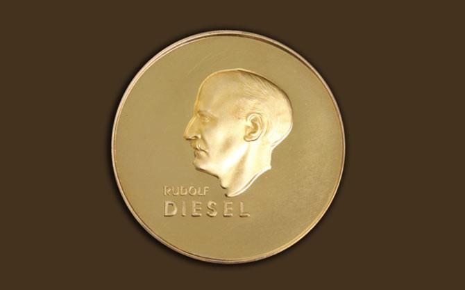 Diesel Medaille