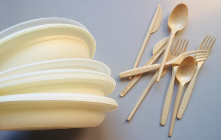 Plates and cutlery with temperature resistance of over 100°C